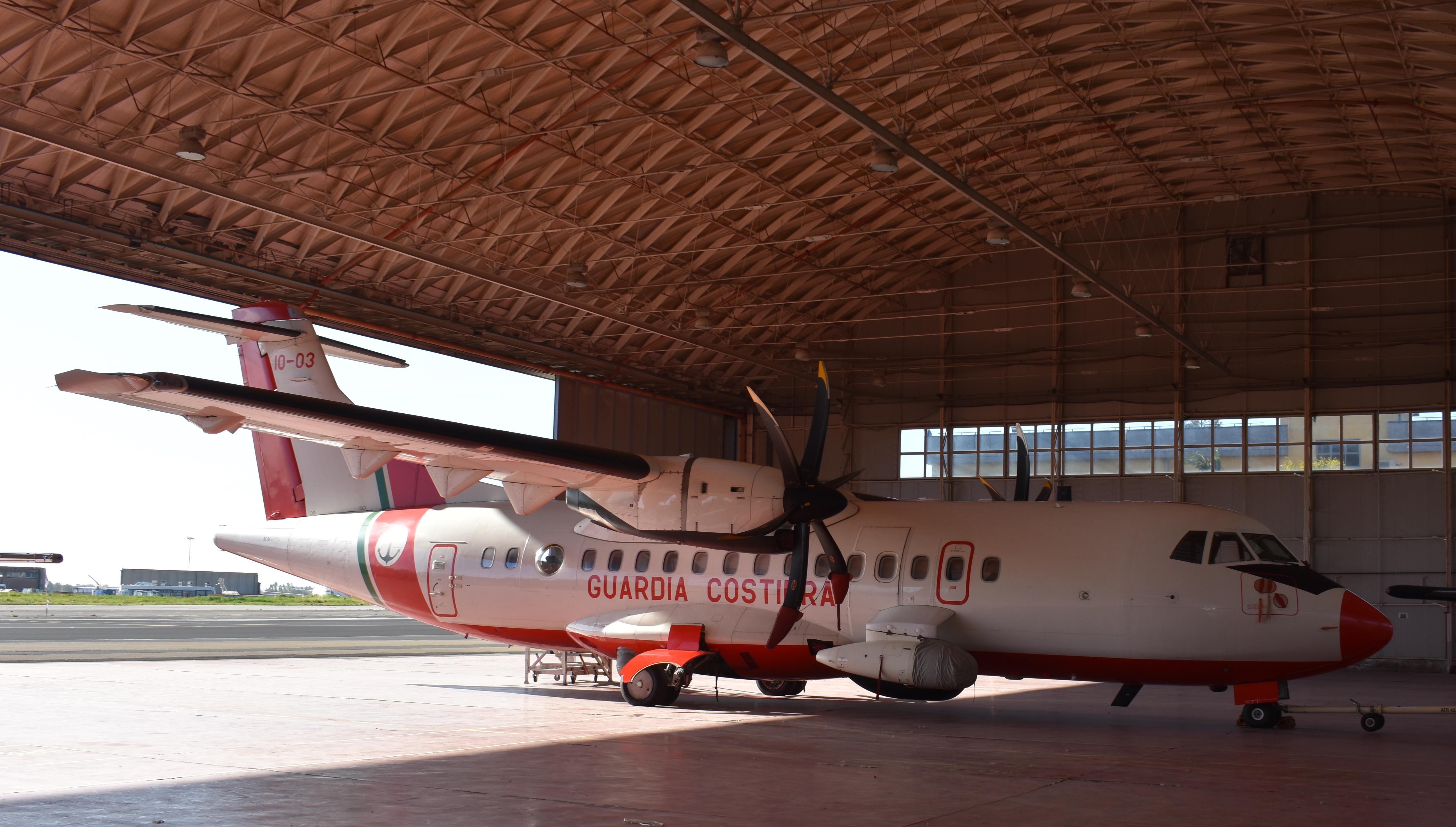 ATR 42MP fiore all'occhiello per il Sc Avanzini e tutto il 2° Nucleo Aereo della Guardia Costiera di Catania