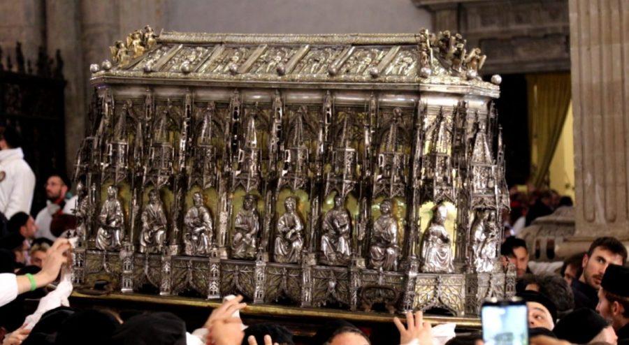 Scrigno Reliquario di Sant'Agata in processione. Foto: Fabio Giuffrida