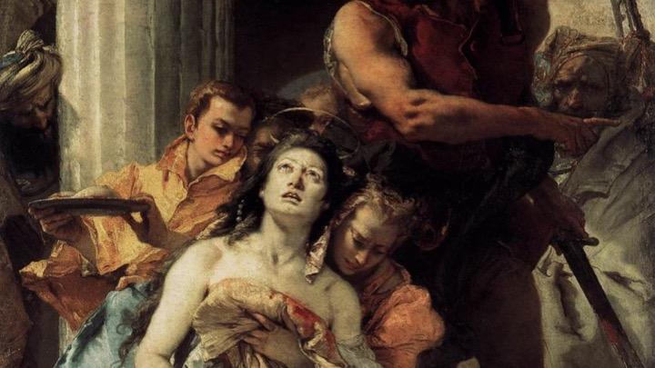 Giovanni Battista Tiepolo Martirio di Sant'Agata