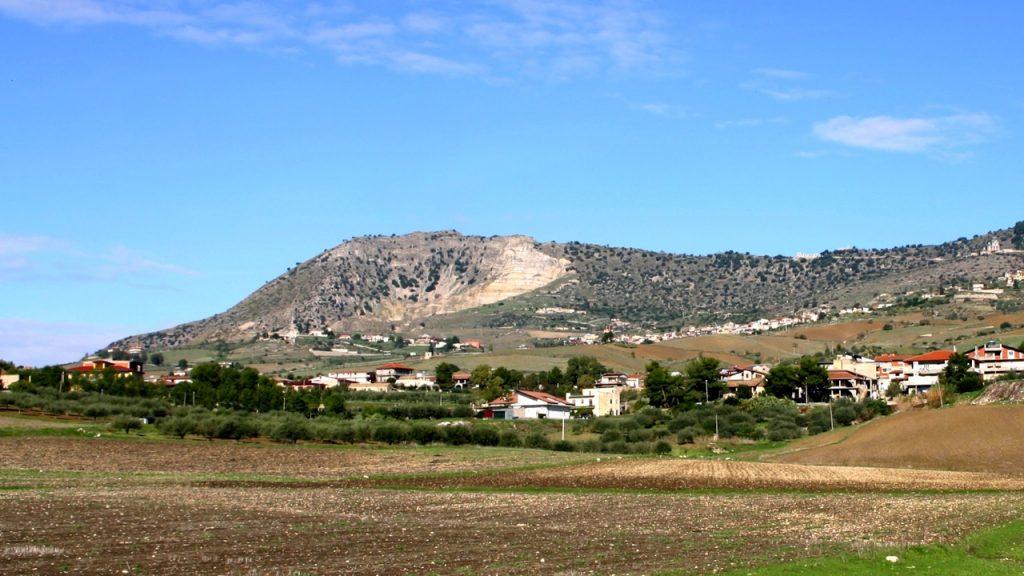 Monte Iudica panorama
