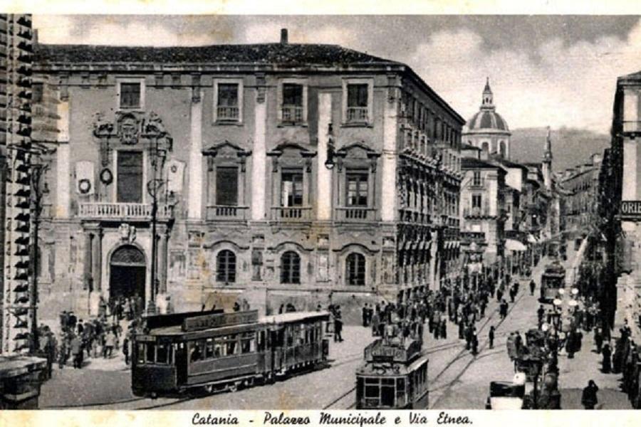 Tram a Catania. Fonte foto: Argo Catania