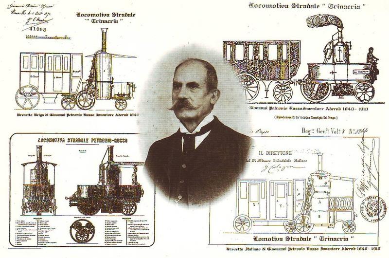 La locomotiva di Giovanni Petronio Russo