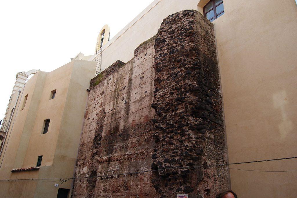 Porte di Catania, Porta Della Decima