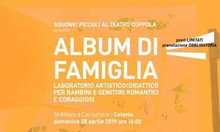 Album Di Famiglia   Laboratorio Artistico Per Bambini   Squonk! Piccoli Al Teatro Coppola