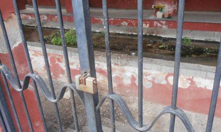 Cancello lavatoio di Cibali