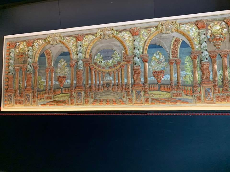 """Una delle 27 opere preziosissime esposte nella mostra """"Architetture barocche in argento e corallo"""", ospitata a Castello Ursino fino al 20 ottobre."""