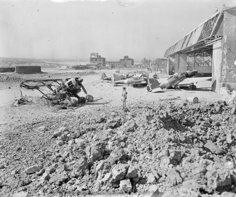 Bombardamento Aeroporto Di Catania