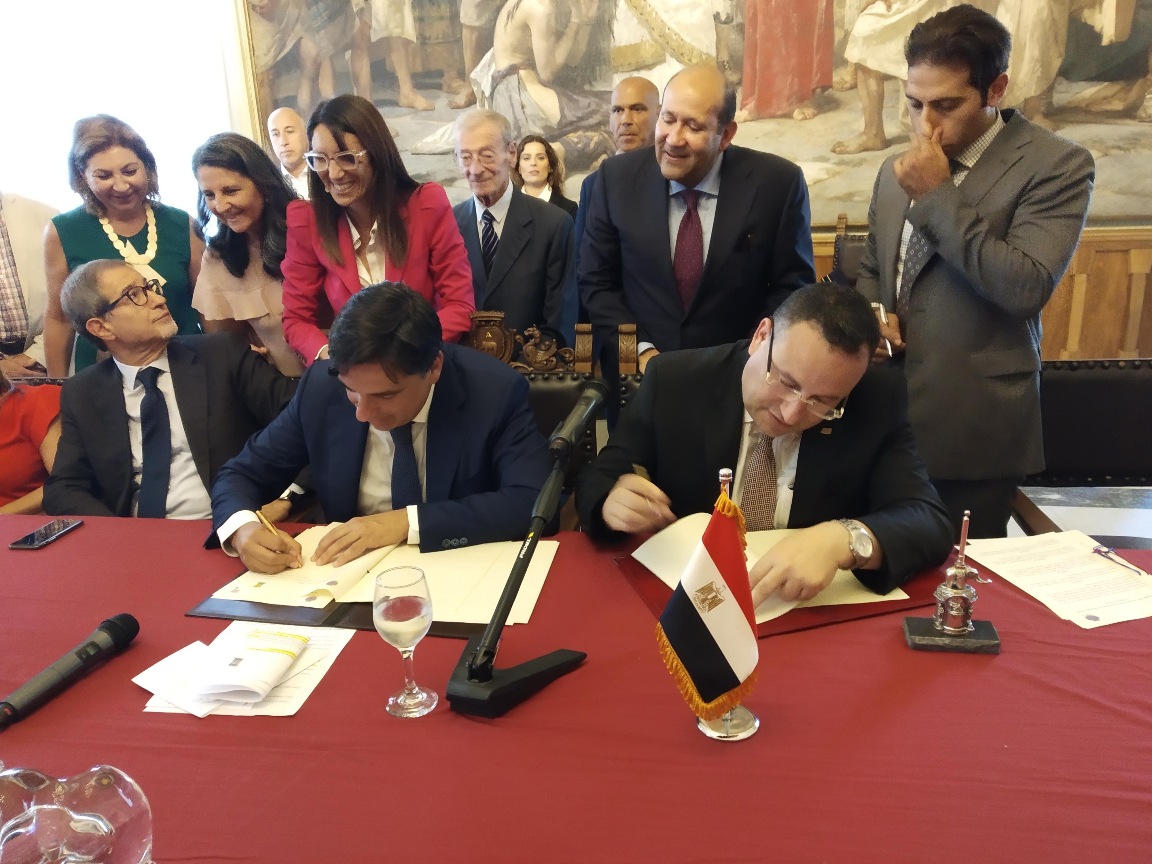 Patto di gemellaggio tra Catania e Alessandria d'Egitto
