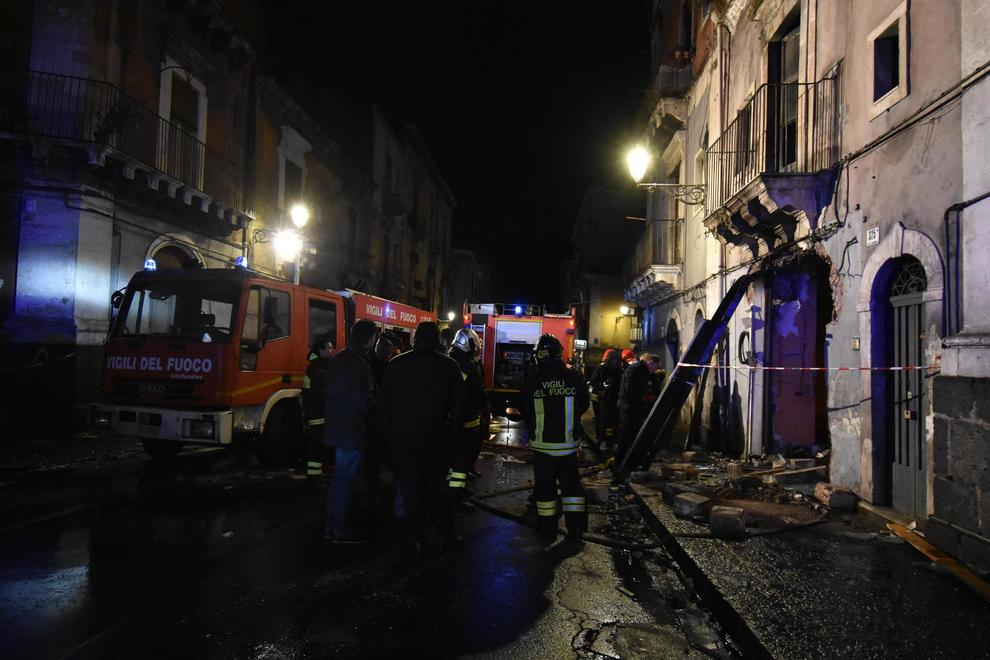 Esplosione via Garibaldi