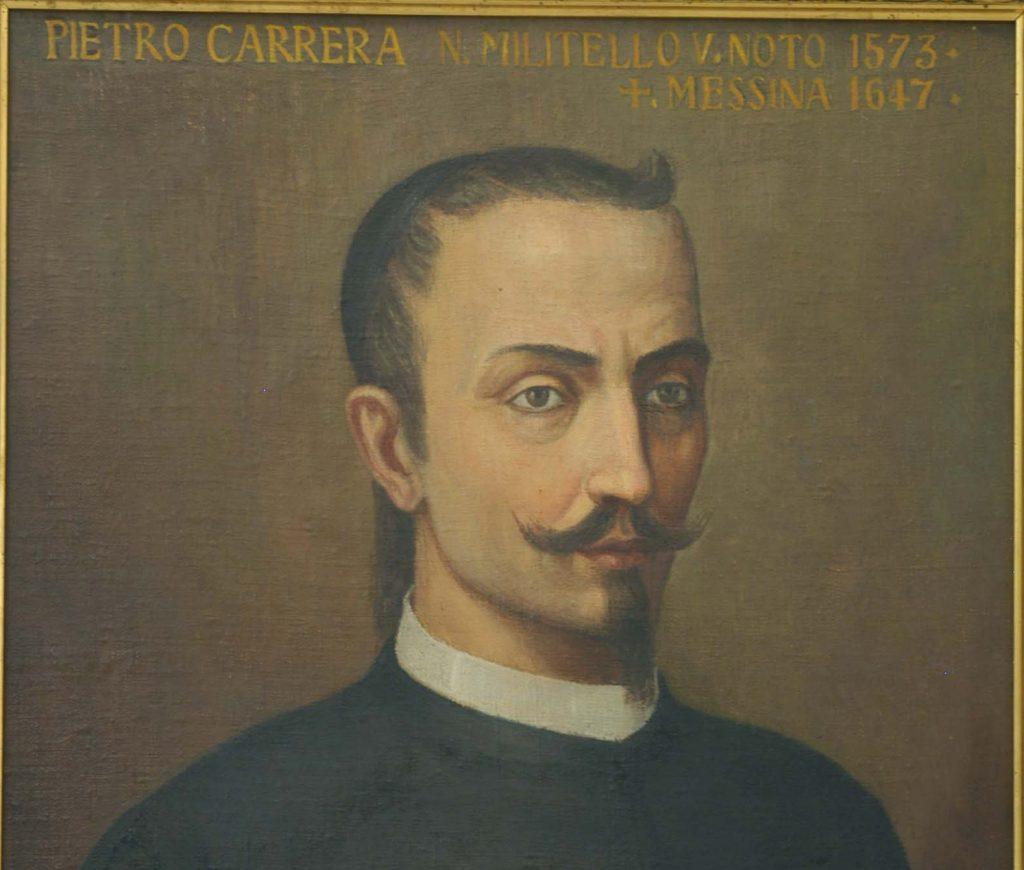 Trionfo dei catanesi sui libici, Pietro Carrera