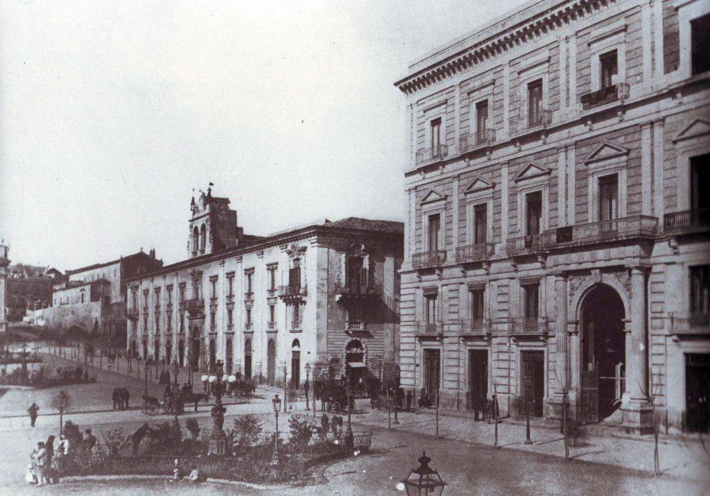 Catania scomparsa, post fontana