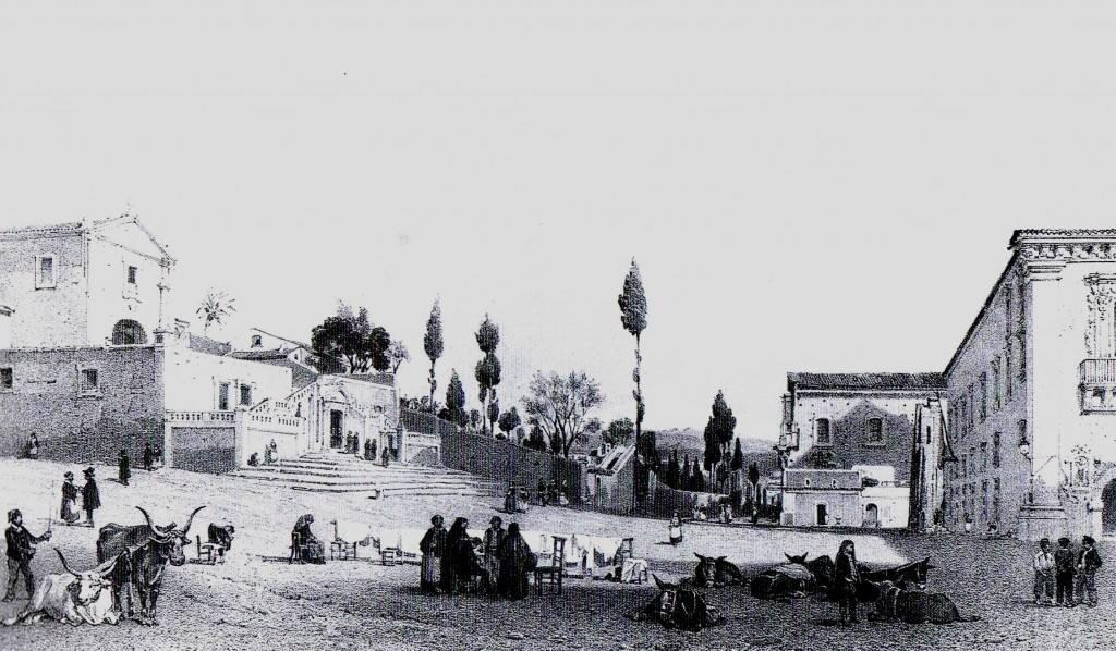 Veduta Porta Aci, Catania scomparsa