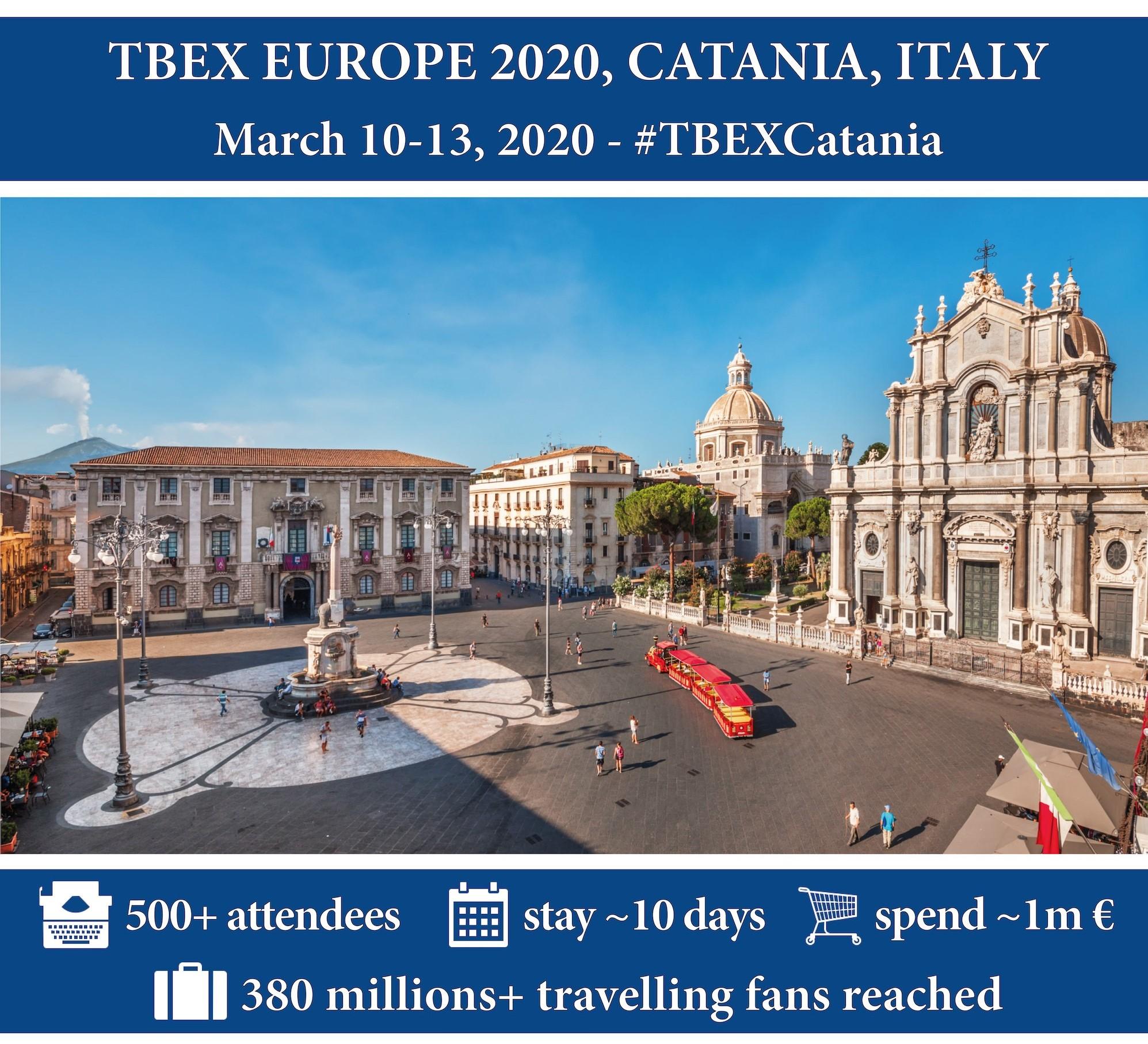 Campagna pubblicitaria TBEX Catania