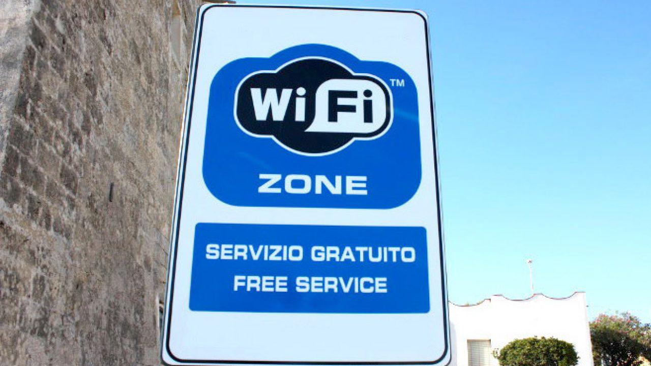 Cartellone Wi-Fi