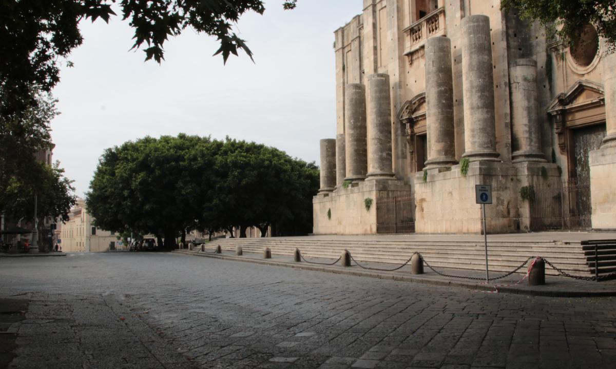 Piazza Dante area Pedonale