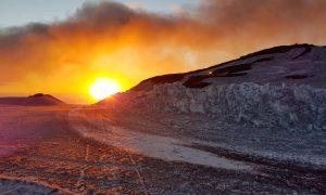 tramonti settembrini sull'Etna