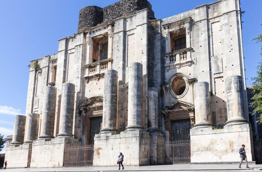 Meridiana dei Benedettini - Chiesa di San Nicolò l'Arena a Catania. Fonte foto: Cristiano La Mantia
