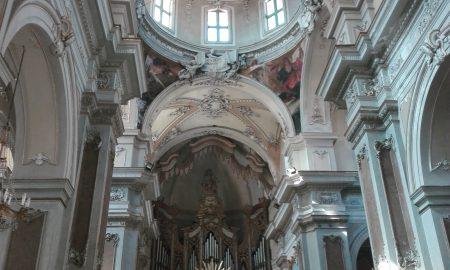 Interni Della Chiesa Collegiata Di Catania