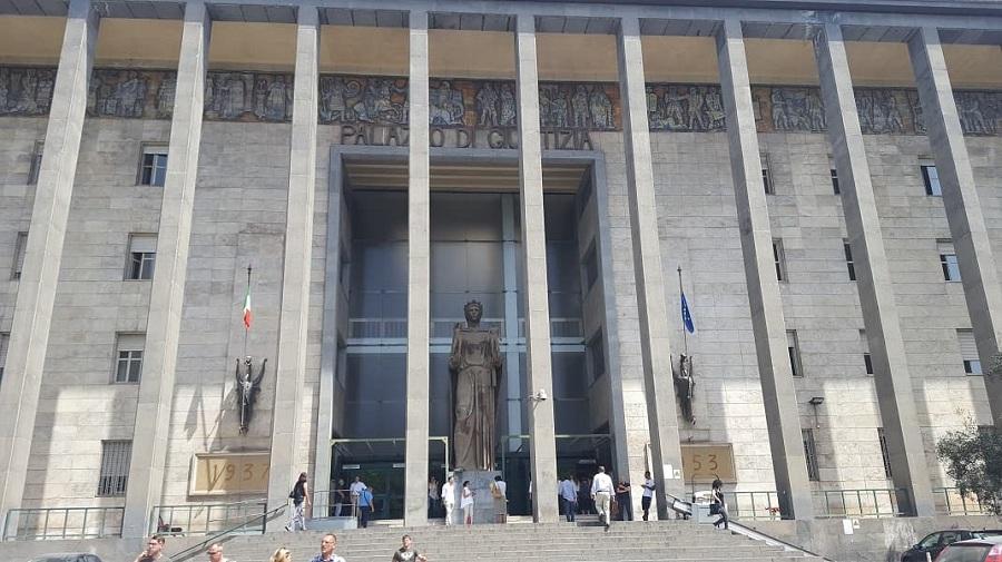 Palazzo di Giustizia - Ingresso Palazzo di Giustizia. Fonte foto: Hashtag Sicilia