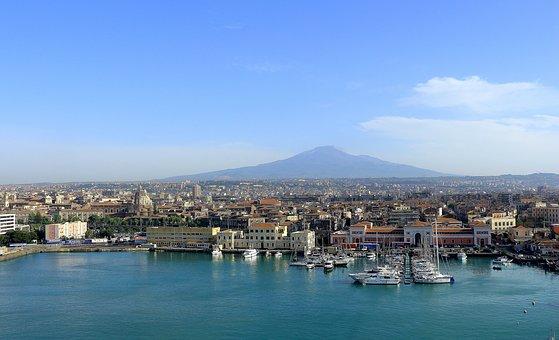 Casa a Catania con vista panoramica della città