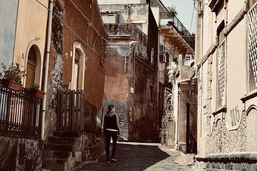 Una casa a Catania dal sapore antico