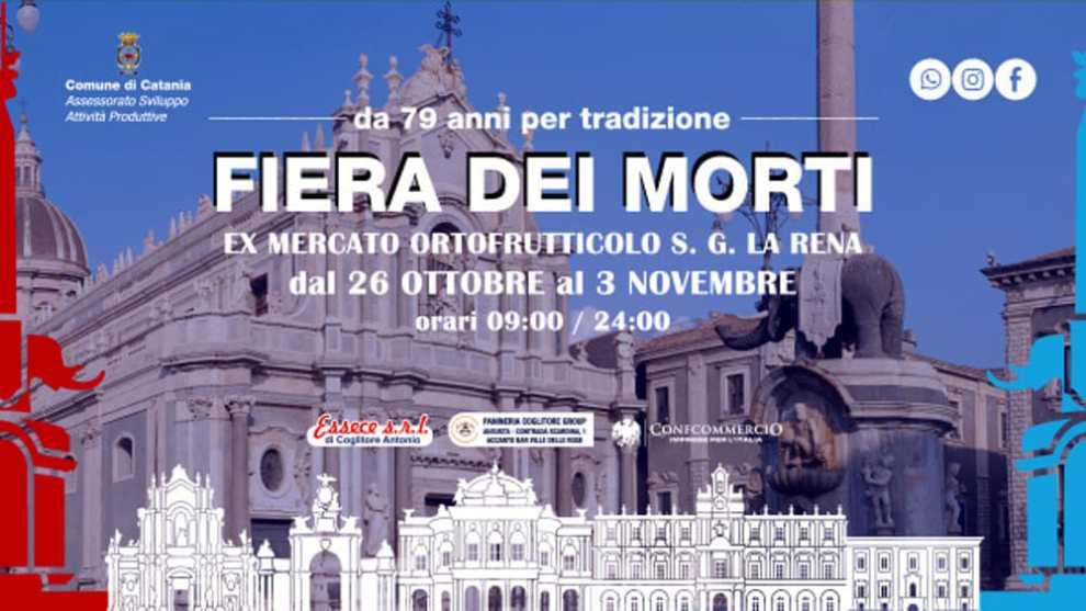 L'ex mercato ortofrutticolo di San Giuseppe la Rena ospiterà l'edizione 2019 della Fiera dei Morti, la settantanovesima.