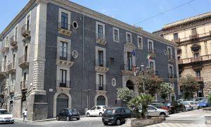 grandangolo del palazzo settecentesco Palazzo Gravina-Cruyllas
