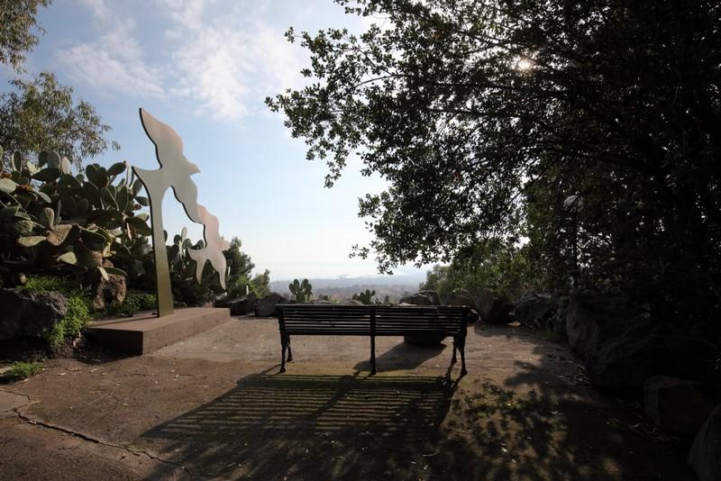 Elena La Verde e il Parco delll'Arte