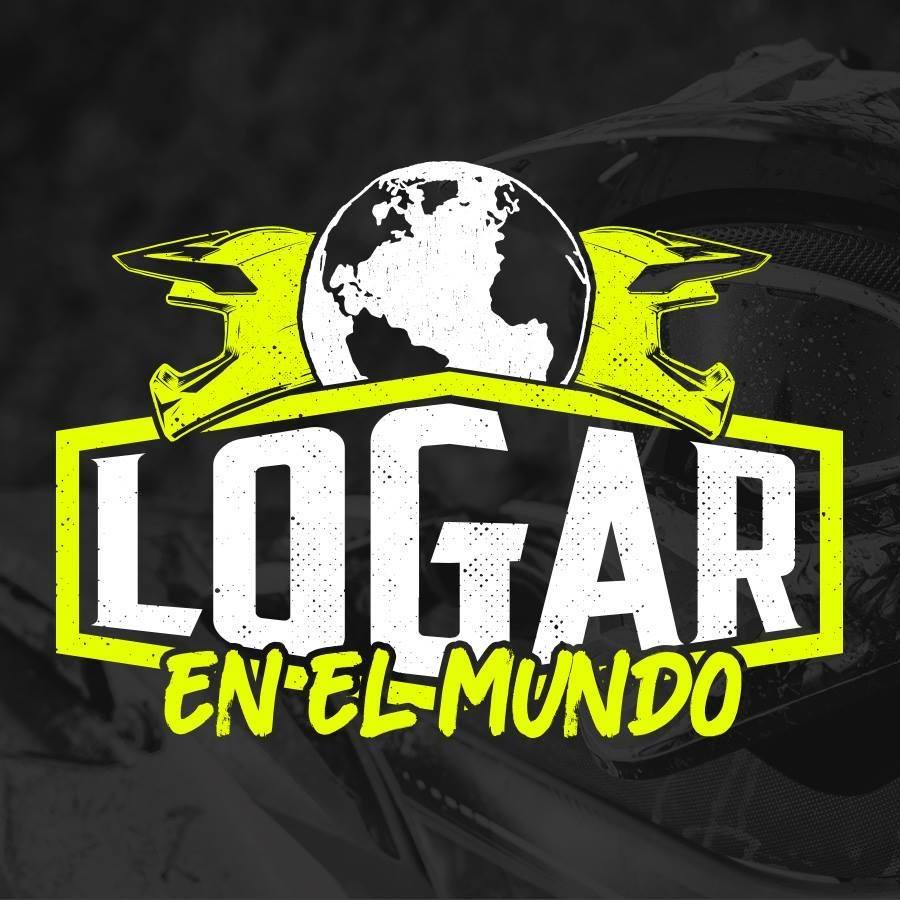 """logo con scritto """"Logar en el mundo"""""""