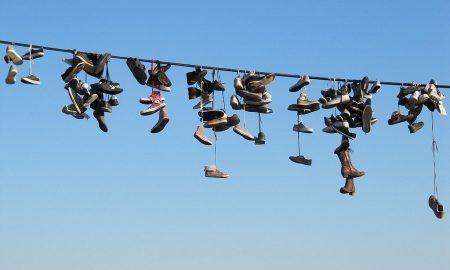 Shoefiti a Catania