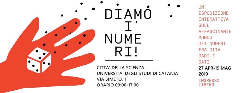 """Città della Scienza - Manifesto evento """"diamo i numeri"""""""""""