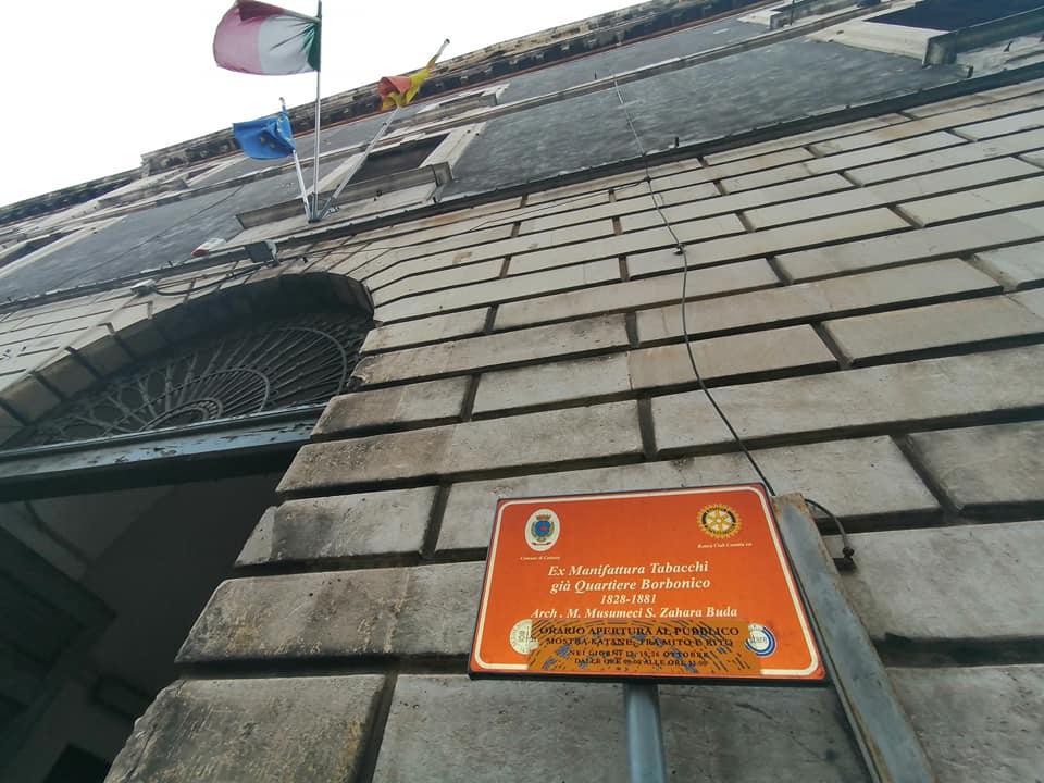 di struttura neoclassica,l ì'ex manifattura tabacchi, è stata scelta dalla regione come luogo più adatto per essere la sede del nuovo museo che sarà uno dei fiori all'occhiello di Catania