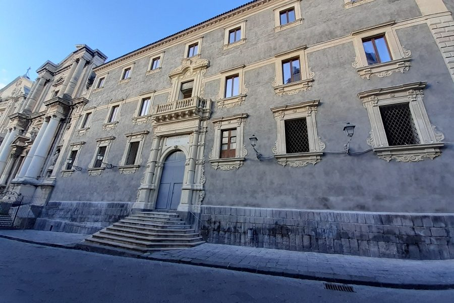 Collegio Dei Gesuiti - Ultimato l'ex Collegio dei Gesuiti a Catania. Foto di: Valentina Friscia