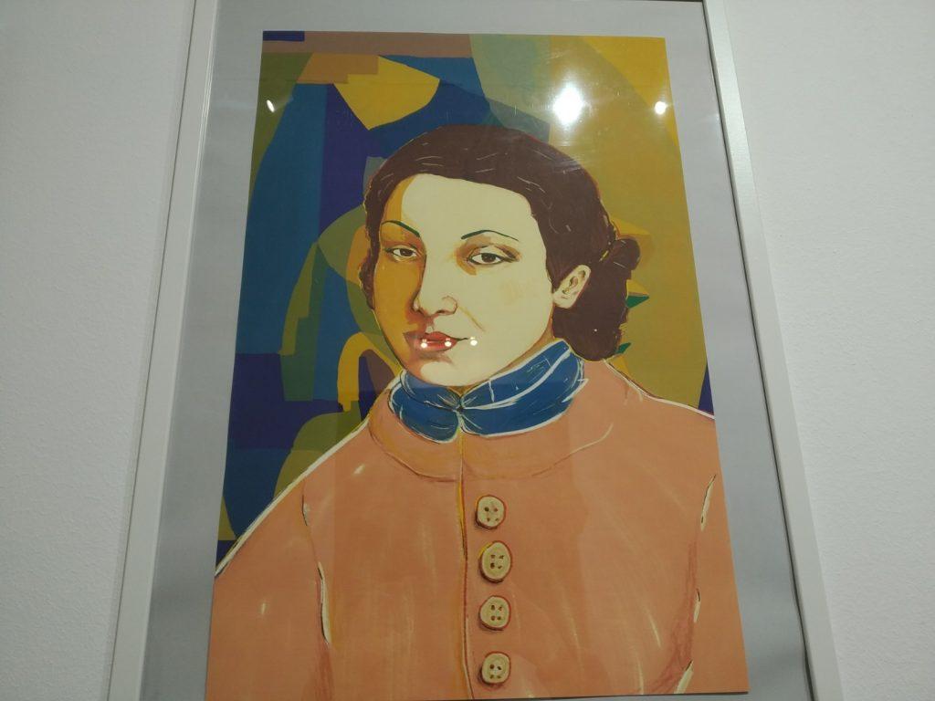 Ritratto a colori di Adele Gloria.