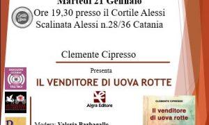 """""""il Venditore Di Uova Rotte"""" Di Clemente Cipresso A Cura Di Franco Di Guardo"""