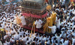 Sant'Agata - Fercolo reliquie patrona