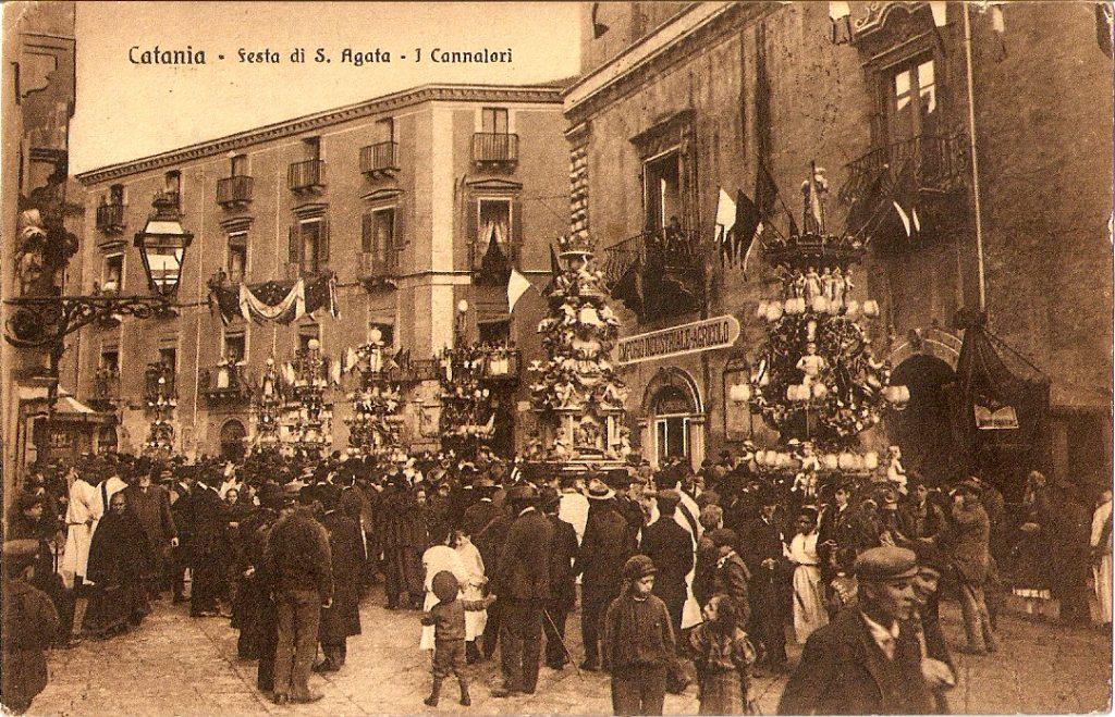 Sant'Agata - foto processione antica
