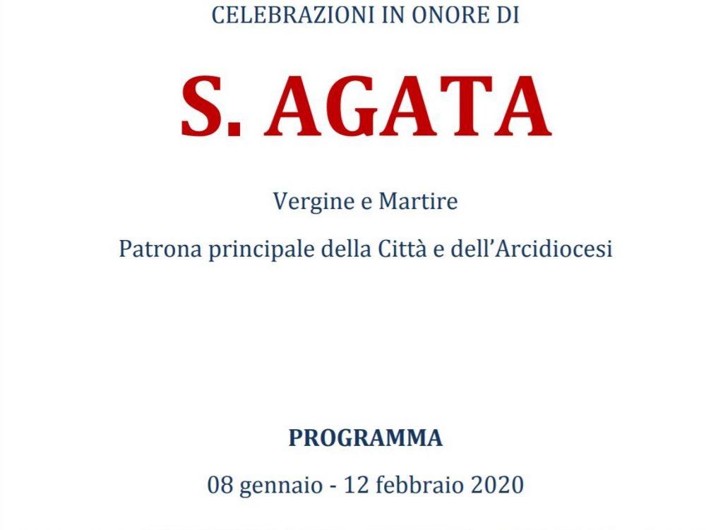 Sant'agata - Programma Sant'agata 2020