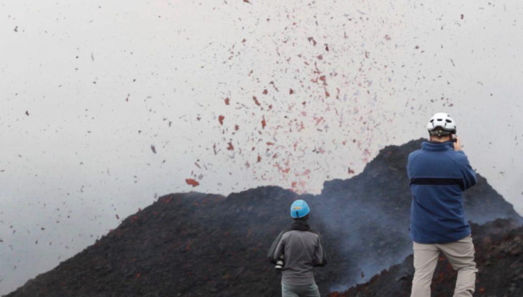 Eruzione dell'Etna, dicembre 2018 - Foto di Beatrice Costantino