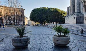 """Piazza Dante """"liberata"""""""