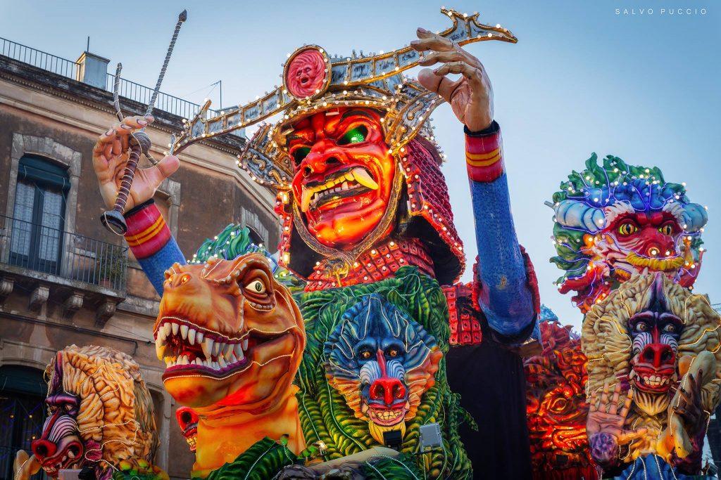 Salvo Puccio Carnevale Acireale 2019