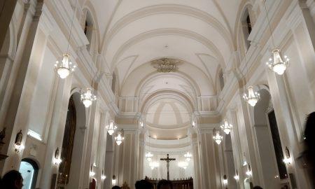 Sant'Agata la Vetere: l'interno e la navata centrale