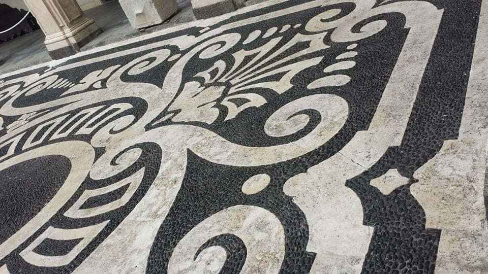 Nel luglio 2017, l'Ateneo catanese ha realizzato il restauro della pavimentazione della corte di palazzo centrale, gravemente deteriorata dal tempo.