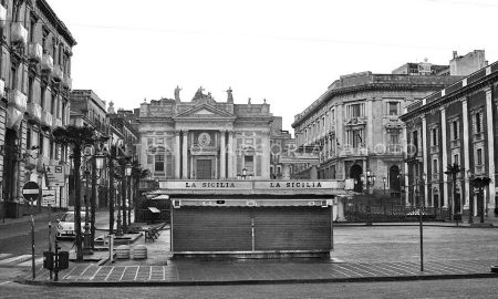 Peste a Catania - Coronavirus e desolazione a Catania. Foto di: Antonio Arcoria