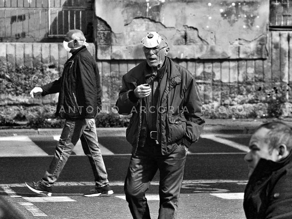 Peste a Catania - il Coronavirus e i catanesi. Foto di: Antonio Arcoria