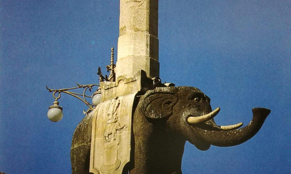 Elefante simbolo della cittlà di Catania