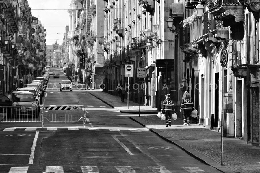 Peste a Catania - eroi a Catania. Foto di: Antonio Arcoria