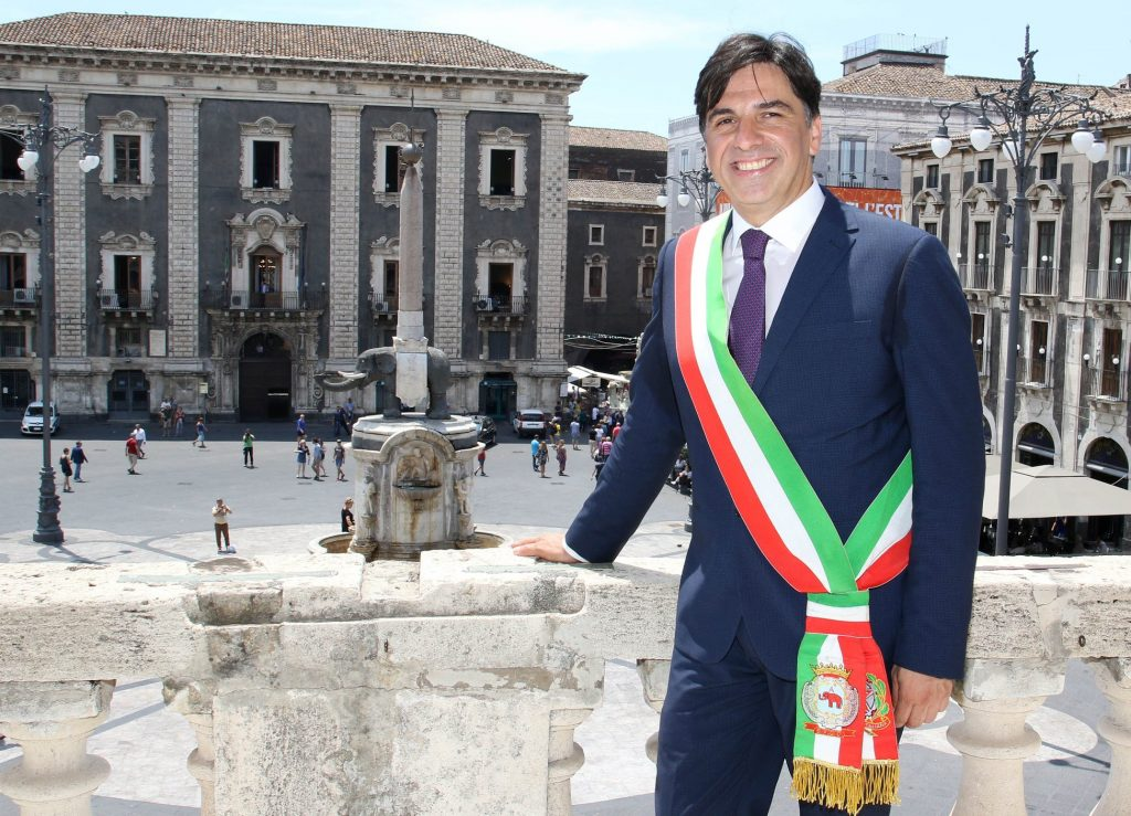 Foto Salvo Poghiese con il tricolore