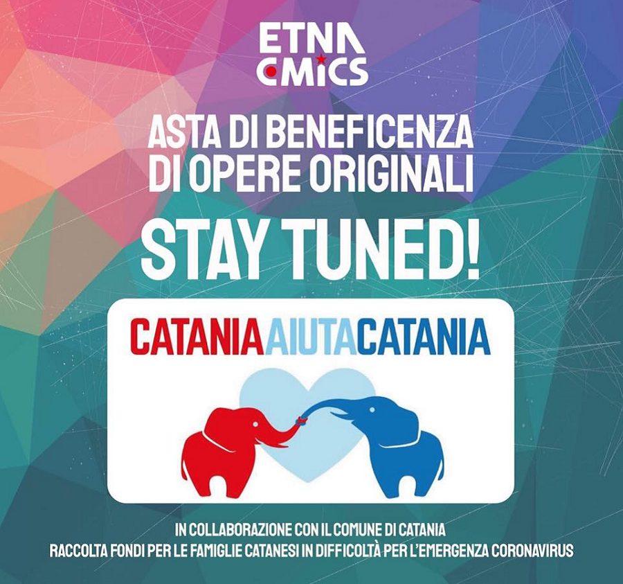 Solidarietà a Catania - Asta di Beneficenza EtnaComics