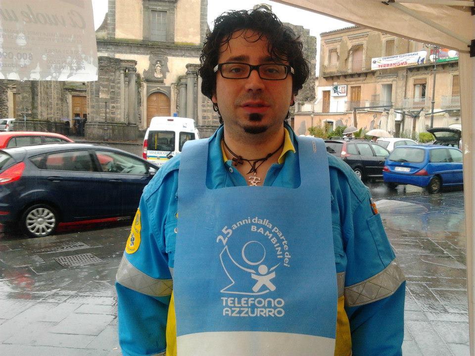 Andrea Di Placido, dal 2009, ha deciso di spendersi quasi pienamente nel settore del volontariato.
